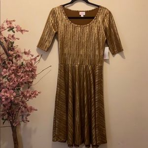 LulaRoe NWT Nicole Dress Sz M size Medium